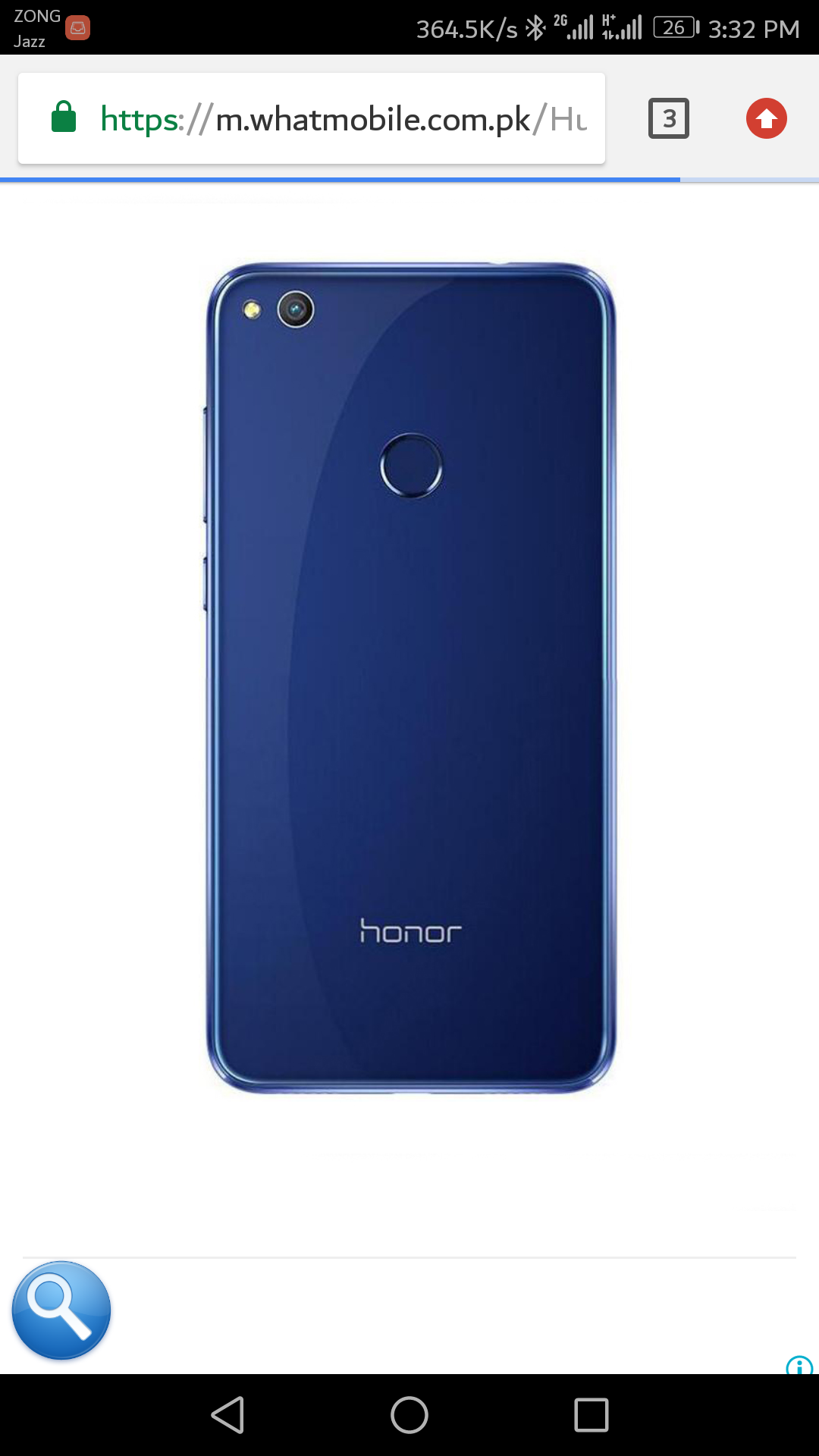I have honor 8 lite 3gb with glass back