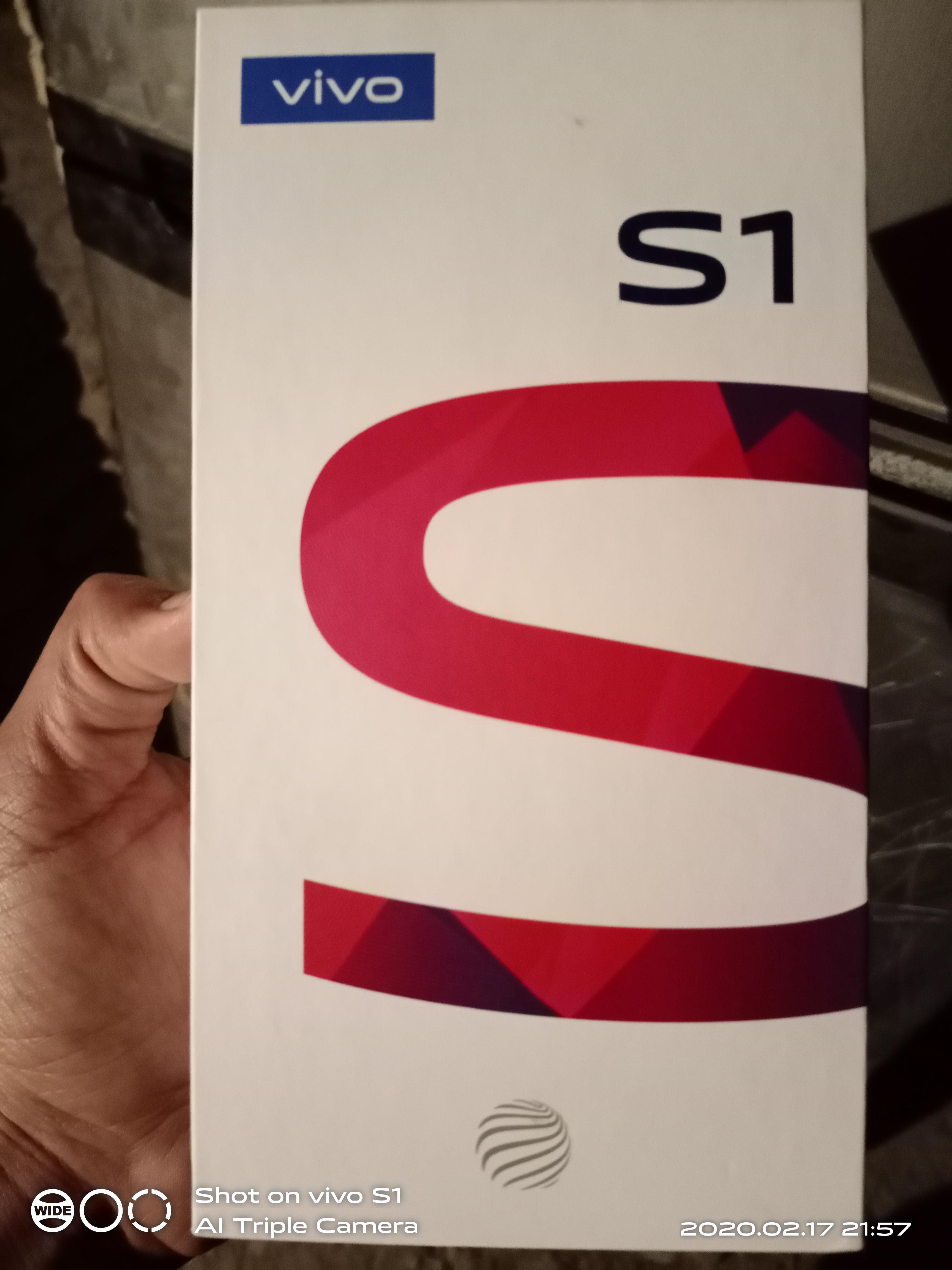 Vivo S1 4gb 128 gb